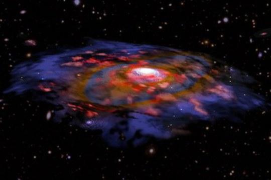 Le galassie nell'Universo primordiale erano già sorprendentemente mature