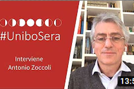 #UniboSera - Interviene Antonio Zoccoli